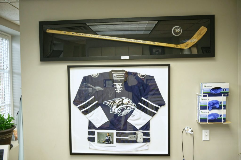 Hockey decoration